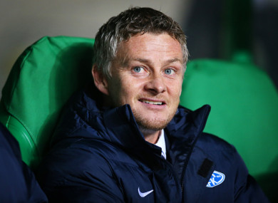 Solskjaer recently signed a contract extension with Molde.