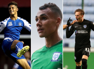 Barry Cotter, Graham Burke and Ronan Curtis all moved to English clubs this year.