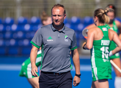 Shaw and his Ireland side made it to the hockey World Cup final this year.