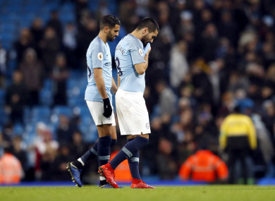 City slumped to an unexpected defeat to Palace this afternoon.