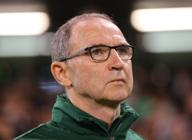 Martin O'Neill was appointed Ireland manager in 2013.