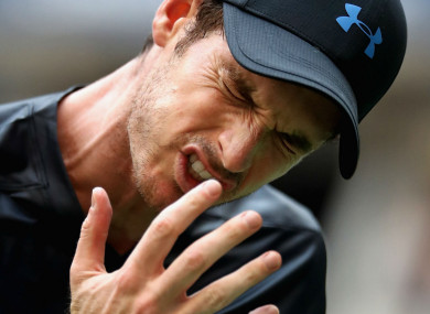 Former world number one Andy Murray.