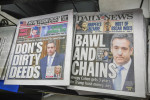 Headlines in New York newspapers after Cohen was sentenced on Wednesday.