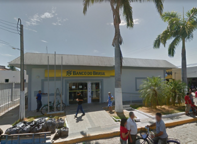 Banco Do Brasil in Milagres was attacked in the early hours of the morning.