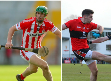 Seamus Harnedy and Paul Geaney have both won county senior medals in Cork.