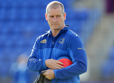 Lancaster has helped Leinster to huge success in recent seasons.