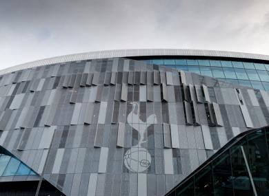 Tottenham Hotspur's new White Hart Lane stadium in London.