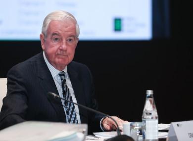 President of the World Anti-Doping Agency, Craig Reedie.