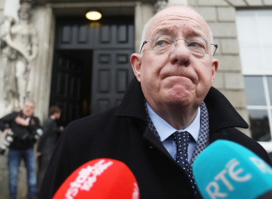 Minister for Justice Charlie Flanagan