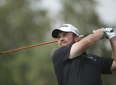 Shane Lowry is staying close to the leading pack after the opening round.