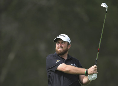 The Offaly native carded a one-under 71 in the third round of the Dubai Desert Classic.