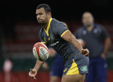 Kurtley Beale (file pic).