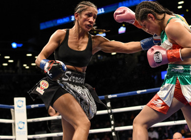 Amanda Serrano is due to fight Katie Taylor later this year, but says her career won't be defined by the Irish icon.