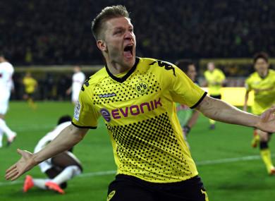 Blaszczykowski won consecutive Bundesliga titles with Dortmund.