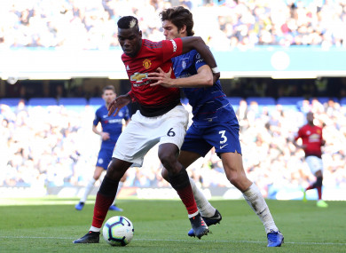 Pogba and Alonso going head-to-head in October.