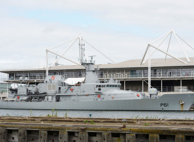 Irish fishing vessel detained by Naval Service off west coast