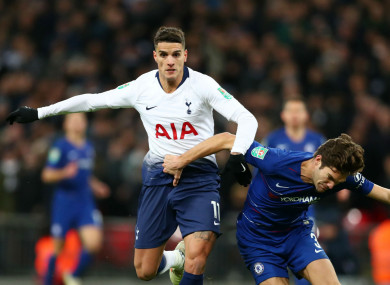 Lamela was part of the Spurs side that fell to Chelsea last night.