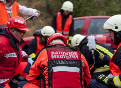 File image: Polish emergency services