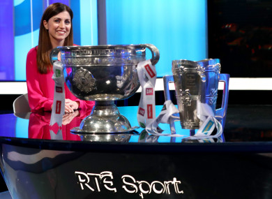Joanne Cantwell will take over as the main presenter of the Sunday Game this year.