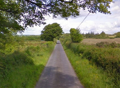 File photo of a road in Coolcullen.