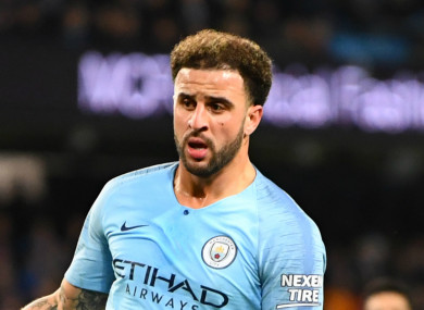 Kyle Walker (file pic).