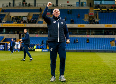 Coughlan has steered Bristol Rovers out of the relegation zone during his time as interim boss.