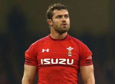 Wales' Leigh Halfpenny