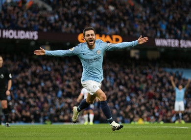 Silva: City trail Liverpool by seven points ahead of Etihad clash.