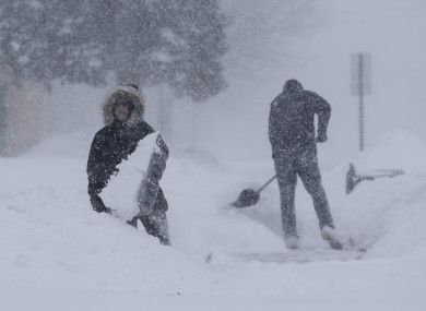 Colder than Antarctica: People told to stay home in a dozen
