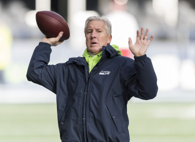 Seattle Seahawks head coach Pete Carroll and his offensive coordinator Brian Schottenheimer virtually ignored QB Russell Wilson in defeat to the Cowboys.