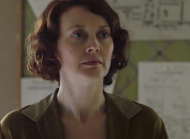 Simone Kirby as Ursula Sweeney in Resistance.