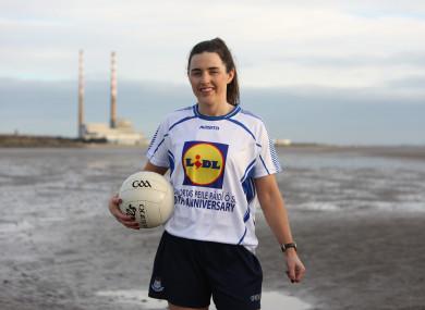 Lyndsey Davey was speaking yesterday at the launch of the 2019 Comórtas Peile Páidí Ó Sé.