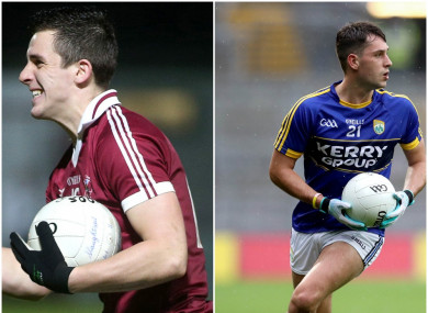 Shane McGuigan was the scoring star for St Mary's while Jack Savage hit 0-8 for IT Tralee.