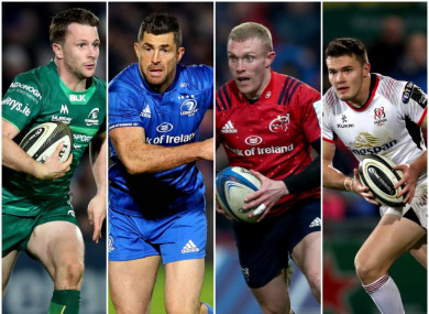 The four Irish teams will be in action on 29-30 March.