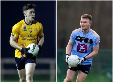 Cavan's Dara McVeety will go up against Monaghan forward Conor McCarthy in the next round.