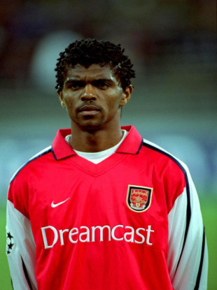 Nwankwo Kanu is a former Arsenal player.