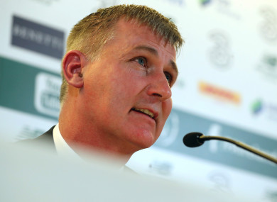 Stephen Kenny today announced his first squad as the new Irish U21s manager.