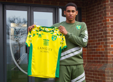 New Norwich City signing, William Hondermarck.