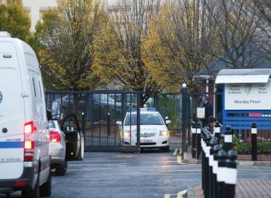 File photo. Mountjoy Prison