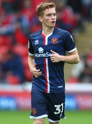 He spent the first half of the season on loan at Walsall.