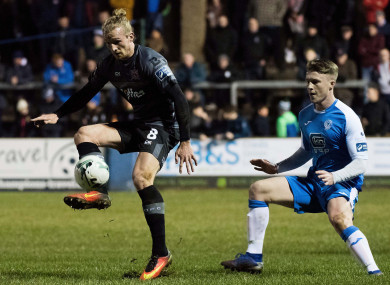Dundalk were held to a second successive 1-1 draw on Friday night against Finn Harps.