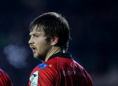 Henderson's hand has limited him to three appearances for Ulster since October.