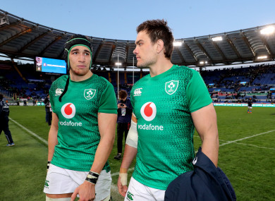 Ultan Dillane and Quinn Roux are due to be available this weekend.