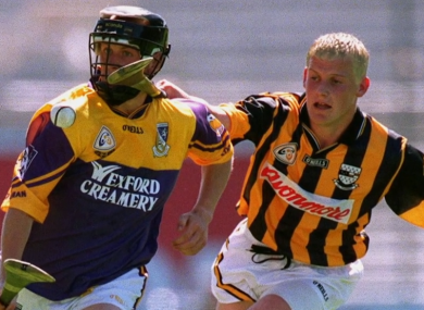 Jackie Tyrrell bleached his hair for a time during his Kilkenny career.