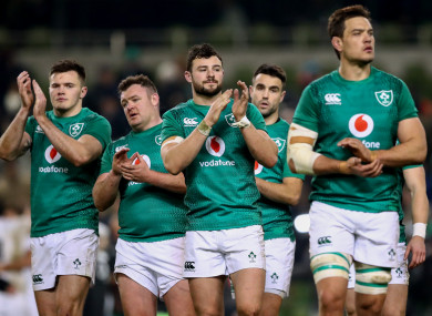 It was an afternoon to forget for Ireland at the Aviva Stadium on Saturday.