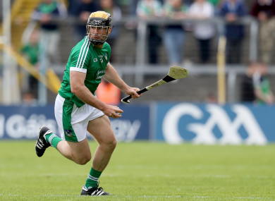 James Ryan lining out in 2017.