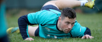 Cooney at training in Carton House this week.