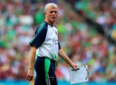 Limerick boss John Kiely.