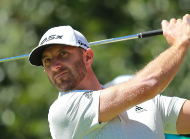 Dustin Johnson (file pic).