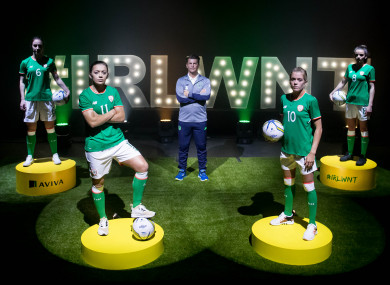 The Ireland WNT are in the spotlight again.